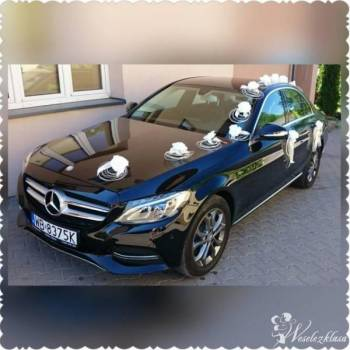 Najnowszy Mercedes-Benz Klasa C, Samochód, auto do ślubu, limuzyna Mońki