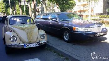 Wynajem Limuzyny - London Taxi - Garbus - Mustang, Samochód, auto do ślubu, limuzyna Wołów