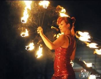 Teatr Tańca i Ognia TRANSFUZJA,taniec z ogniem,animacje dla dzieci, Teatr ognia Orzysz