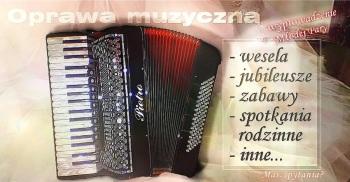 Akordeonista na błogosławieństwo lub imprezę okolicznościową, biesiadę, Oprawa muzyczna ślubu Lublin