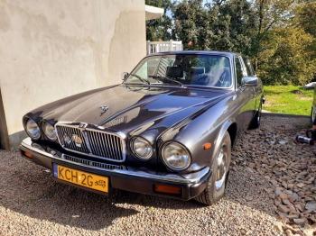 Zabytkowy samochód Jaguar XJ6, Samochód, auto do ślubu, limuzyna Szczucin