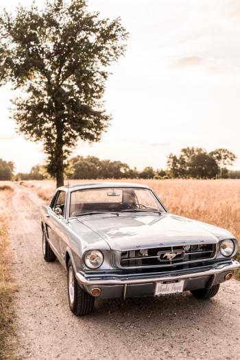 Auto do ślubu Ford Mustang 1965, Samochód, auto do ślubu, limuzyna Ciechanów