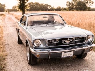 Auto do ślubu Ford Mustang 1965,  Warszawa