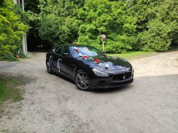 Maserati do ślubu, Samochód, auto do ślubu, limuzyna Mielec