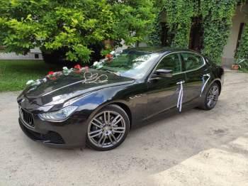 Maserati do ślubu, Samochód, auto do ślubu, limuzyna Tarnobrzeg