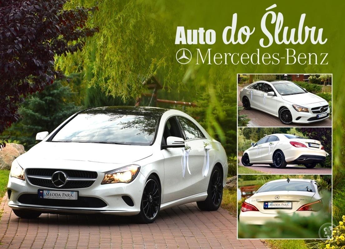 Samochód do ślubu, auto na wesele Mercedes CLA 250, Kościerzyna - zdjęcie 1