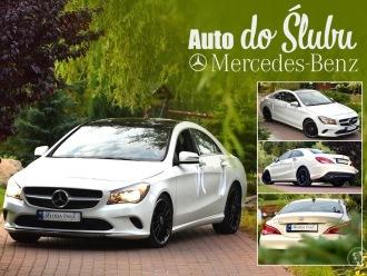 Samochód do ślubu, auto na wesele Mercedes CLA 250,  Kościerzyna