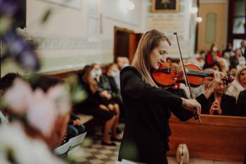 Inny Projekt  - artystyczna oprawa muzyczna ślubów, Oprawa muzyczna ślubu Krzanowice