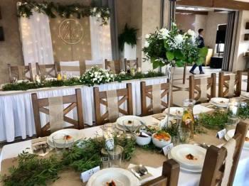 IMPRESJA Dekoracje Ślubne Dekoracja sali kościoła ślub plenerowy kwiat, Dekoracje ślubne Szczyrk