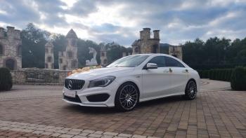 Mercedes Cla AMG💥PROMOCJA PAKIET-500zł/4h w tygodniu i listopadzie💥, Samochód, auto do ślubu, limuzyna Tychy