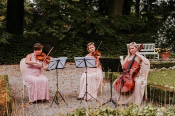 Skrzypce i wiolonczela, muzyka na ślub, Oprawa muzyczna ślubu Jelenia Góra