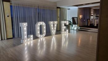 Napis LOVE na wesele, litery love dekoracja sali -, Dekoracje ślubne Nowa Sarzyna