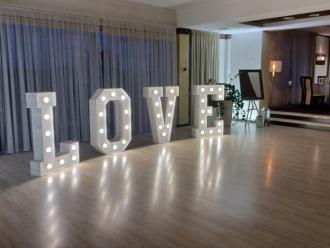 Napis LOVE na wesele, litery love dekoracja sali -,  Rzeszów