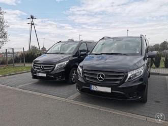 Rozwożenie Gości-Transport weselny, wynajem VANa,BUSa,auta z kierowcą,  Kraków