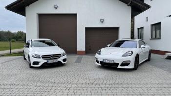 Auto do ślubu Mercedes E AMG 600 zł, Samochód, auto do ślubu, limuzyna Limanowa