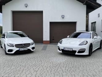 Auto do ślubu Mercedes E AMG 600 zł,  Myślenice
