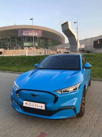 Samochód do ślubu/na wesele - Ford Mustang Mach E, Samochód, auto do ślubu, limuzyna Knurów