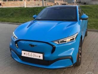 Samochód do ślubu/na wesele - Ford Mustang Mach E,  Gliwice