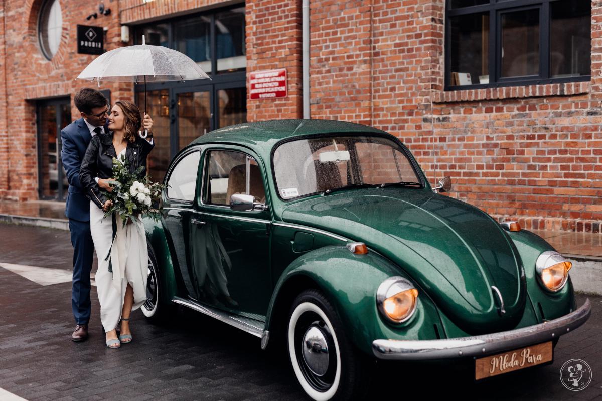 Wynajem samochodu na ślub Fiat 125p, zielony Garbus, Wodzisław Śląski - zdjęcie 1