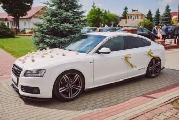 Audi a5, Samochód, auto do ślubu, limuzyna Lublin