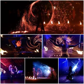 TEATR OGNIA - pokaz ognia, światła, pirotechniki| FIRESHOW | LIGHTSHOW, Teatr ognia Żory