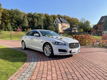 Jaguar XF - Wasz idealny samochód do ślubu - wolne terminy!
