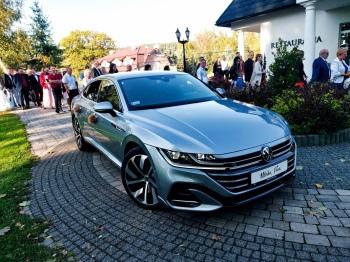 Auto do ślubu nowy Volkswagen Arteon R-line, Samochód, auto do ślubu, limuzyna Zator