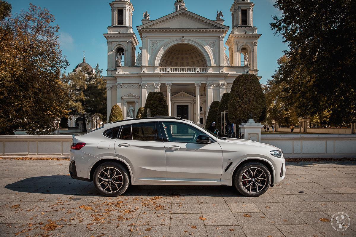 Białe BMW X4 2021 z czerwoną skórą, Warszawa - zdjęcie 1