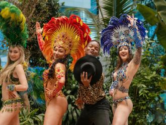 Pokaz tańca- Caribbean Dream Dancers- Taniec i animacje,  Gdańsk