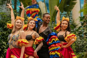 Pokaz tańca- Caribbean Dream Dancers- Taniec i animacje