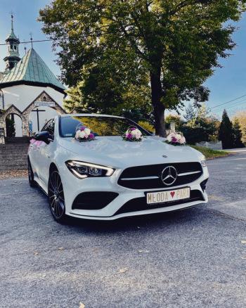 Wymarzony samochód do ślubu. Najnowszy Mercedes CLA AMG 4MATIC