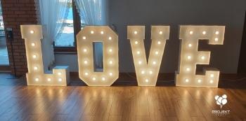 Napis LOVE Projekt Party, Napis Love Lubaczów