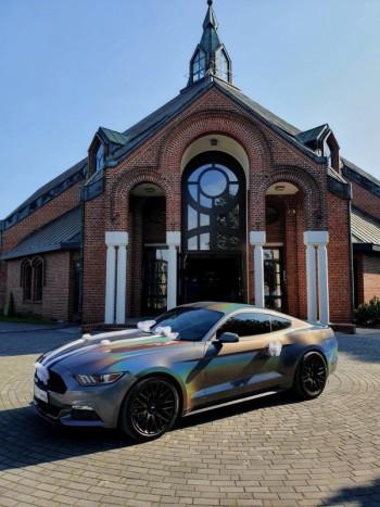 Holograficzny Ford Mustang - auto do ślubu - Jedyny taki!