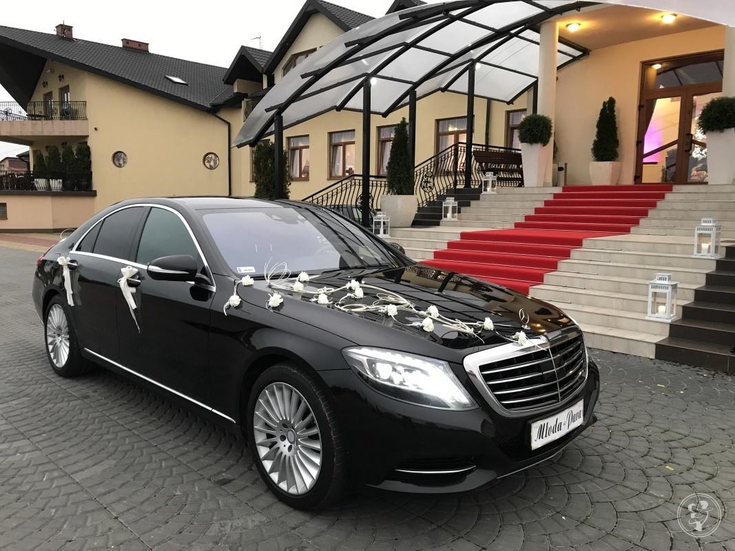Mercedes limuzyna do ślubu, Białobrzegi - zdjęcie 1
