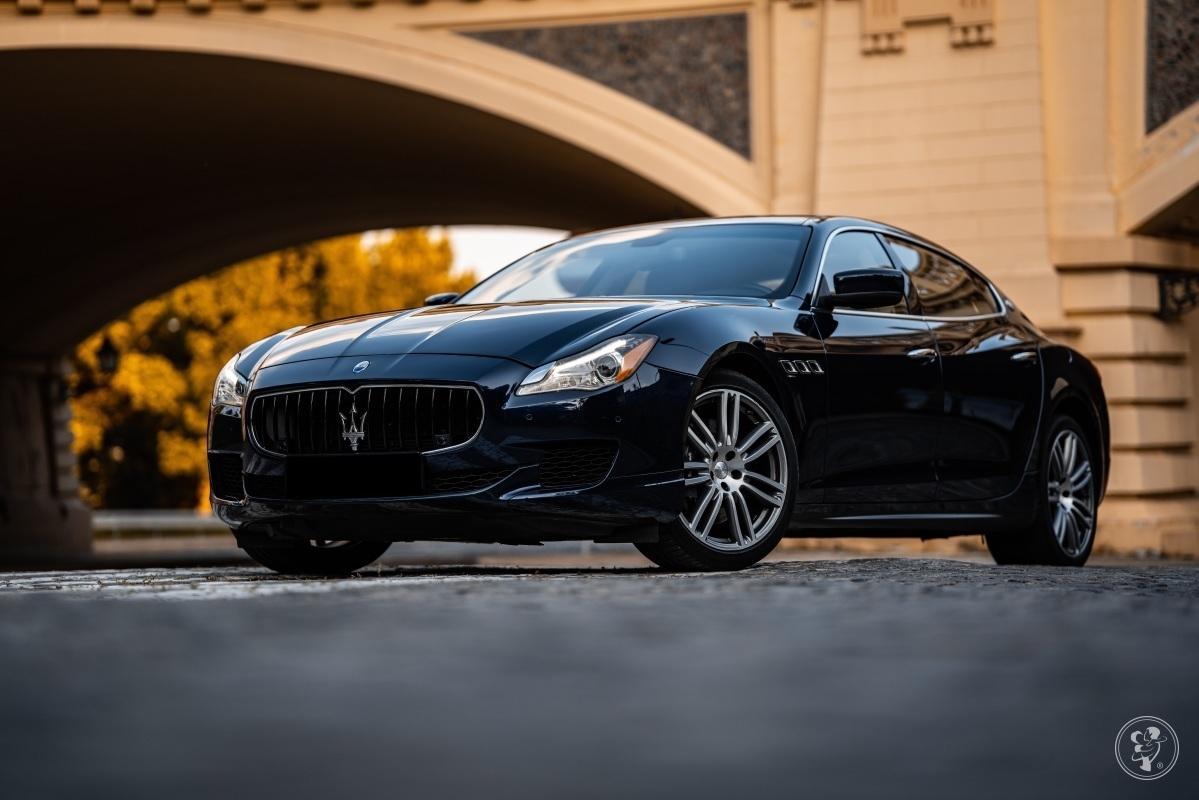 Limuzyna do ślubu / Maserati Quattroporte, Warszawa - zdjęcie 1