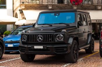 Mercedes-Benz AMG G63 W463 G-klasa 575KM Auto za MILION ZŁOTYCH!, Samochód, auto do ślubu, limuzyna Kołobrzeg