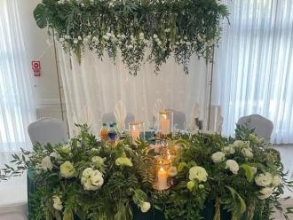 Kwiaciarnia I.Nowik - dekoracja kościoła, sali,  Zawiercie
