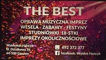 The Best Waldemar Hancyk. Gwarancja niezapomnianych chwil., DJ na wesele Grabów nad Prosną