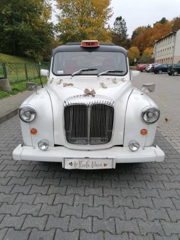 Klasyk do ślubu Austin London Taxi, Samochód, auto do ślubu, limuzyna Wejherowo