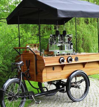 Szmaragd Cafe - mobilny bar kawowy,, Barista na wesele Białogard