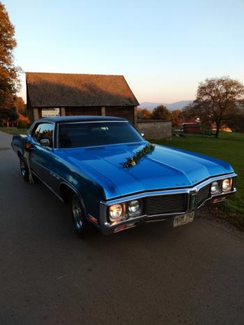 Buick Le Sabre do ślubu, Samochód, auto do ślubu, limuzyna Ryglice