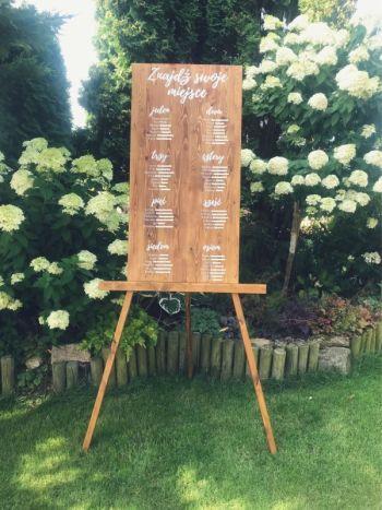 The Wood Art - Unikalne tablice drewniane w stylu rustykalnym, Dekoracje ślubne Kwidzyn