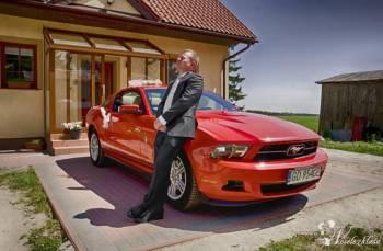 Ford Mustang 2012, Samochód, auto do ślubu, limuzyna Nowy Staw