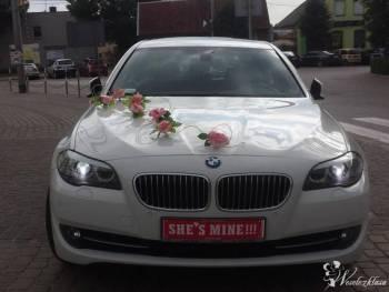 BMW 520 Śluby imprezy , Samochód, auto do ślubu, limuzyna Szczuczyn