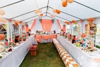 Namiot weseleny, ślub, komunia, Katering, Imprezy, 5x6 5x8 5x10, Wypożyczalnia namiotów Wieluń