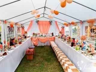 Namiot weseleny, ślub, komunia, Katering, Imprezy, 5x6 5x8 5x10,  Wieluń