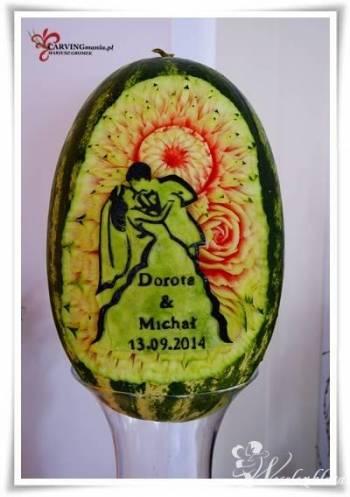 Dekoracje z owoców i warzyw - carving owocowy, Dekoracje ślubne Zakopane