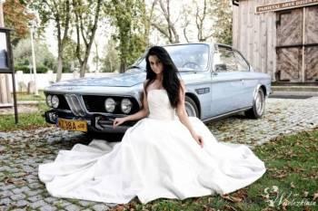 Tender wynajmie do ślubu przepiękne BMW E9 1972r 3.0 CSi Fjord Blue, Samochód, auto do ślubu, limuzyna Święcice