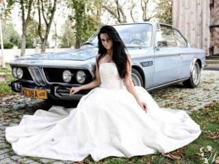 Tender wynajmie do ślubu przepiękne BMW E9 1972r 3.0 CSi Fjord Blue,  Święcice