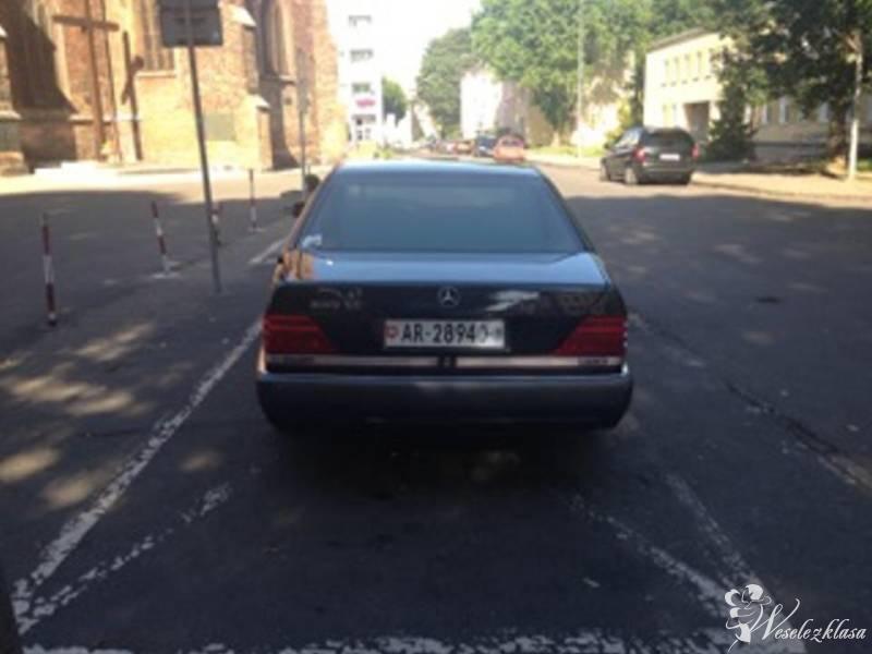Mercedes S klasa  V12- piękne auto do ślubu i inne, Słupsk - zdjęcie 1